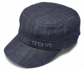 KANGOL カンゴール ワークキャップ DENIM ARMY CAP デニム アーミーキャップ Indigo