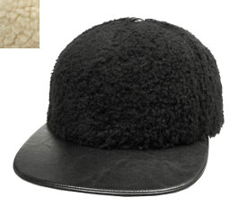 KANGOL カンゴール Faux Sherpa Links Black Natural 帽子 キャップ 野球帽 もこもこ メンズ レディース 男女兼用 あす楽
