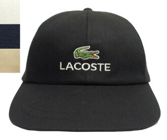06e601f8d38 prast-inc  LACOSTE Lacoste 6 cap L1001 black-and-white dark blue beige hat  baseball cap gentleman woman men gap Dis man and woman combined use