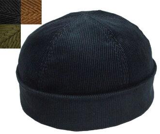 New York Hat紐約帽子蓋子#7934 Corduyoy Thug kodeyuroisagu Navy Black Rust帽子紳士婦女人分歧D男女兼用