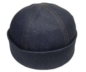 New York Hat ニューヨークハット キャップ #6245 Denim Thug デニム ザグ Blue 帽子 つばなし 紳士 婦人 メンズ レディース 男女兼用