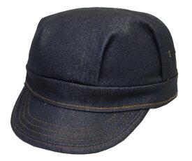 New York Hat ニューヨークハット #6267 Denim Engineer デニム エンジニア キャップ 紳士 婦人 メンズ レディース 男女兼用