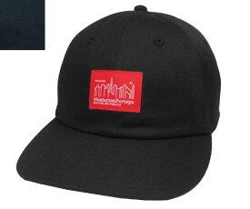 Manhattan Portage マンハッタンポーテージ MP001-18A00 Twill 6P ANEL CAP BLACK NAVY 日本製 シンプル キャップ カジュアル ストリート 野球帽 メンズ レディース 男女兼用 あす楽