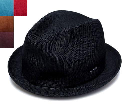 カンゴール KANGOL TROPIC PLAYER トロピックプレイヤー Black Topaz Cognac Burgundy Scarlet 帽子 ぼうし ヘッドギア メッシュ 中折れ HAT 中折れハット 中折れ帽 大きいサイズ XXLサイズ メンズ レディース 男性用 女性用 男女兼用 あす楽