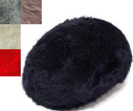 KANGOL(カンゴール) ハンチング FURGORA 504 ファーゴラ504 BLACK SLATE GREY CREAM SCARLET COCOA アンゴラ ファー