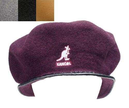 KANGOL WOOL MONTY カンゴール ウールモンティ VINO DK.FLANNEL BLACK WOOD 日本限定 帽子 ベレー メンズ レディース 男女兼用 あす楽
