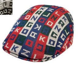 KANGOL罐子球門Color Cube 507彩色立方體507 SCARLET BLACK獵帽人分歧D男女兼用
