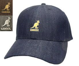 KANGOL Denim Baseball カンゴール デニムベースボール INDIGO BROWN GREY 帽子 キャップ 野球帽 メンズ レディース 男女兼用 あす楽