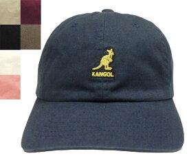 KANGOL Washed Baseball カンゴール ウォッシュベースボール Navy Beige Black White Lt.Pink Wine Smog 帽子 キャップ 野球帽 メンズ レディース 男女兼用 あす楽