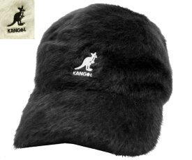 KANGOL Furgora Spacecap カンゴール BLACK CREAM もこもこ ファーゴラ 帽子 キャップ 野球帽 メンズ レディース 男女兼用 あす楽