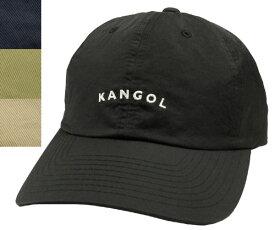 KANGOL Vintage Baseball カンゴール ヴィンテージ ベースボール Black Navy Khaki Beige ナイロン 帽子 キャップ 野球帽 メンズ レディース 男女兼用 あす楽