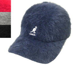 KANGOL SMU Furgora Spacecap カンゴール ファーゴラ ベースボール Navy Scarlet SlateGrey Black ファー もこもこ 帽子 キャップ 野球帽 メンズ レディース 男女兼用 あす楽 日本別注