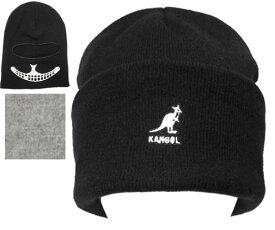 KANGOL カンゴール Urban Legend Balaclava アーバン レジェンド バレクラバ BLACK FLANNEL ニット帽 紳士 婦人 メンズ レディース 男女兼用 ギフト