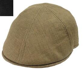 Goorin Brothers グーリン ブラザーズ STEVE B BROWN BLACK 帽子 ハンチング リネン 紳士 婦人 メンズ レディース 男女兼用