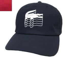 LACOSTE ラコステ キャップ L1106 紺 赤 帽子 野球帽 ワニ 紳士 婦人 メンズ レディース 男女兼用 あす楽 【楽ギフ_包装】