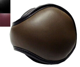 CHRISTYS LONDON クリスティーズ ロンドン 95050 EAR MUFFS イヤーマフ 茶 黒 レザー 羊革 耳あて 折りたたみ式 紳士 婦人 メンズ レディース 男女兼用 ギフト あす楽