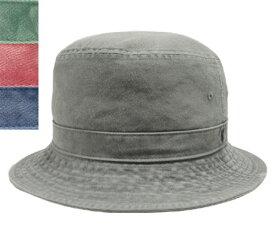 KNOX ノックス 917505 カツラギ ピグメント 染 バケット ブラック グリーン レッド ネイビー カジュアル 帽子 サハリ メンズ レディース 男女兼用 あす楽