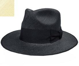 帽子 ステットソン STETSON SE456 フラットWHIPPET クロ ベージュ 高級 ストローハット エクアドル製 メンズ レディース