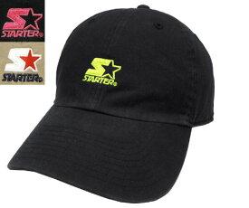 STARTER BLACK LABEL スターター ブラック レーベル STT SMALL STACKED LOGO 6PCAP YELLOW PINK BEIGE ネオン 蛍光 キャップ カジュアル 帽子 メンズ レディース 男女兼用 あす楽