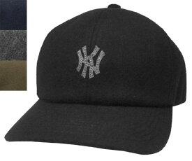 KNOX ノックス 918601 ショートビーバーBB CAP ブラック ネイビー チャコール カーキ カジュアル NY ウール キャップ 帽子 メンズ レディース 男女兼用 あす楽