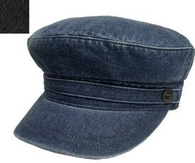 Lee リー LE MARINE CAP DENIM 175-176101 BLACK JELT DENIM デニム 岡山県 カジュアル マリンキャップ メンズ レディース 男女兼用 あす楽