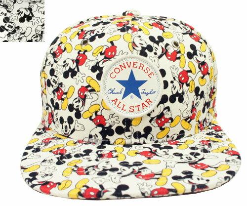 CONVERSE コンバース CN MICKEY MOUSE SB CAP ホワイト マルチ 175-112706 キャップ 野球帽 ミッキー マウス ディズニー メンズ レディース 男女兼用 あす楽