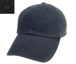 CASTANO kasutano CA CANVAS 6P CAP 185-132009 NAVY BLACK帆布帽子蓋子男子女子簡單