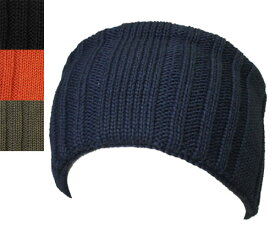 Racal ラカル RL-19-1032 Knit rib hairband NAVY BLACK ORANGE OLIVE ヘアバンド メンズ レディース 男女兼用 あす楽