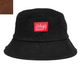 Manhattan Portage マンハッタンポーテージ MP086-20A00 Bucket HAT Black Brown コーデュロイ サハリハット ストリート メンズ レディース 男女兼用 あす楽