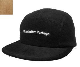 Manhattan Portage マンハッタンポーテージ MP041-19A00 Corduroy CAP BLACK BEIGE コーデュロイ 日本製 シンプル キャップ カジュアル ストリートメンズ レディース あす楽