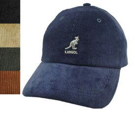 KANGOL Cord Baseball コードベースボール カンゴール Navy Black Beige Forrester Wood コーデュロイ 帽子 キャップ 野球帽 メンズ レディース 男女兼用 あす楽