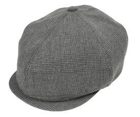 Racal ラカル RL-19-1051B Cas hunting GRAYcheck キャスハンチング チェック 帽子 メンズ レディース 男女兼用 あす楽