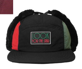 STARTER BLACK LABEL スターター ブラック レーベル STTAFFETA EARFLAP CAP BLACK DKRED キャップ ボア 帽子 メンズ レディース 男女兼用 あす楽