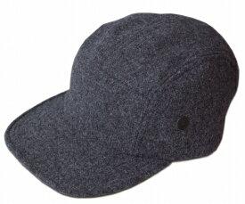 ニューヨークハット 帽子 キャップ New York Hat 9383 WOOL CAMP CAP ウール キャンプ Charcoal メンズ レディース