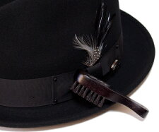 Bailey(ベイリー)帽子ブラシTravelBrush