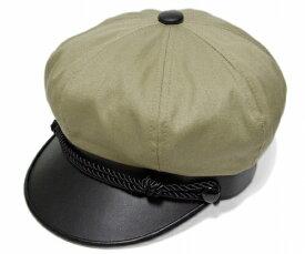 ニューヨークハット NEW YORK HAT  帽子 ハンチング キャスケット 6019 COTTON BRANDO コットン ブランド セーラーキャップ マリン メンズ レディース 大きなサイズ Khaki