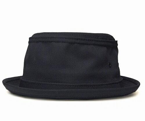 ニューヨークハット New York Hat 限定モデル  3061 COTTON STINGY コットン スティンジー Black [Black Band Ver.] 帽子 ポークパイハット コットン 大きいサイズ XXLサイズ メンズ レディース 男女兼用 あす楽