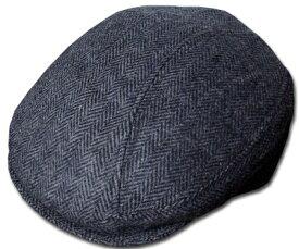 New York Hat(ニューヨークハット) ハンチング #9333 HERRINGBONE 1900, Charcoal