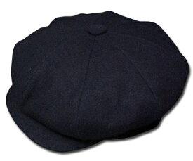 ニューヨークハット 帽子 キャスケット ハンチング New York Hat 9080 WOOL BIG APPLE ウール ビッグアップル Black 大きいサイズ 定番 紳士 婦人 メンズ レディース 男女兼用 あす楽