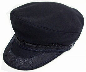 New York Hat ニューヨークハット キャップ 9040 GREEK FISHERMAN グリーク フィッシャーマン セーラーキャップ Black