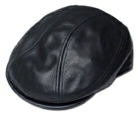 ニューヨークハット 帽子 レザーハンチング New York Hat 9250 LAMBA 1900 Black 黒 本革 大きいサイズ XXL 別注 ブラック 紳士 婦人 メンズ レディース 男女兼用 あす楽 送料無料