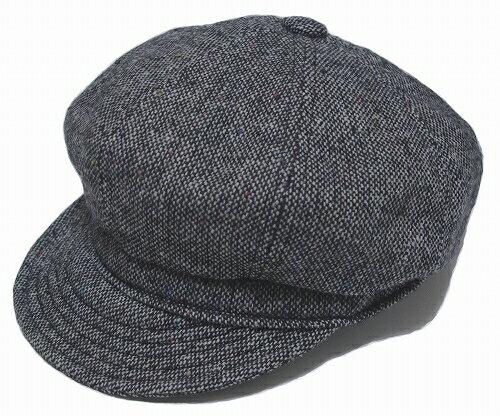 New York Hat ニューヨークハット 9052 TWEED SPITFIRE ツイード スピットファイア Grey 帽子 キャスケット 紳士 婦人 メンズ レディース 男女兼用