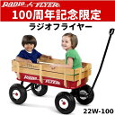 Radio Flyer All-Terrain Wagon #22W-100100周年記念モデル 100th Anniversary Editionラジオフライ...