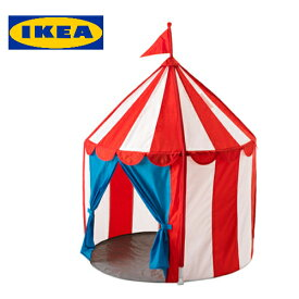 CIRKUSTALT 子供用テント 室内用 プレイテントサーカスのテント テント おもちゃ子供 室内テント赤 白【smtb-ms】60342053