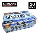 Kirkland カークランド トイレットペーパー 2枚重ねカークランド 43m 30ロール バスティッシュBath Tissue 30 Rolls ダブル 6ロール×5パックコストコ Costco【