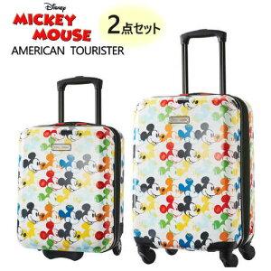 2020 ホワイトアメリカンツーリスター スーツケース 2点セットディズニー 2PC 45.7cm 50.8cmAmerican Tourister DisneyHardside Carry-On Set Mickey Mouseミッキーマウス キャリー キャリーケース1365401