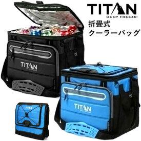 タイタン 折り畳みクーラーバッグハードコア ショルダーストラップ付TITAN Hard Core 40-Can Folding Cooler Bag40缶収納 クーラーバッグアウトドア キャンプ 運動会【smtb-ms】