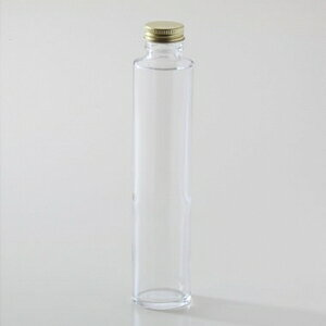 国産 ハーバリウム瓶 200ml 透明 円柱 タワータイプ キャップ付