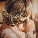 ヘッドドレス 着物 髪飾り パール 花 ブライダル クール ウェディング 小物 フラワー 花 リーフ 葉 コーム ティアラ …