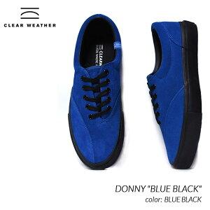 """日本未発売 CLEAR WHEATHER DONNY """"BLUE BLACK"""" クリアウェザー ブランド ドニー スニーカー ( 海外限定 デッキシューズ 白 ホワイト CM0150022 )"""